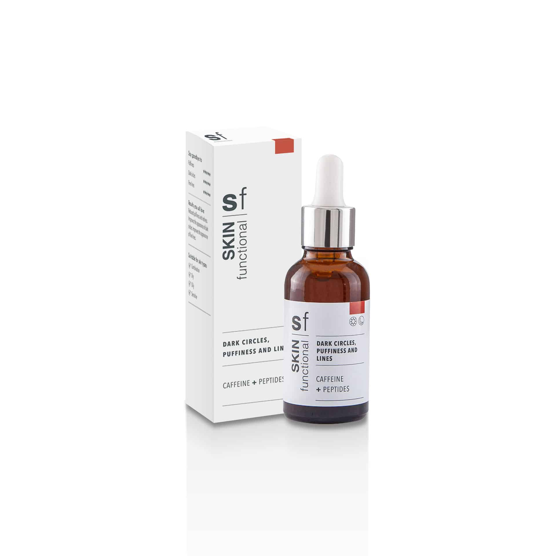 Dark Circles, Puffiness And Lines - Caffeine + Peptides