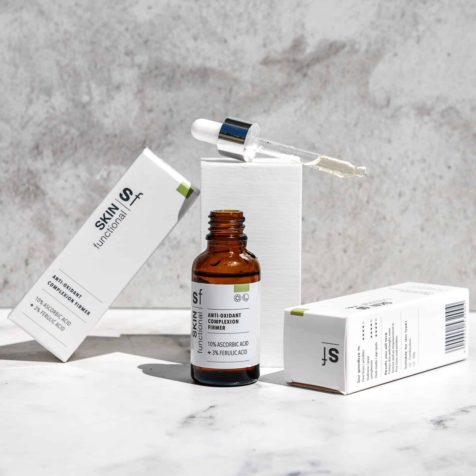 Anti-Oxidant Complexion - 10% Ascorbic Acid + 3% Ferulic Acid