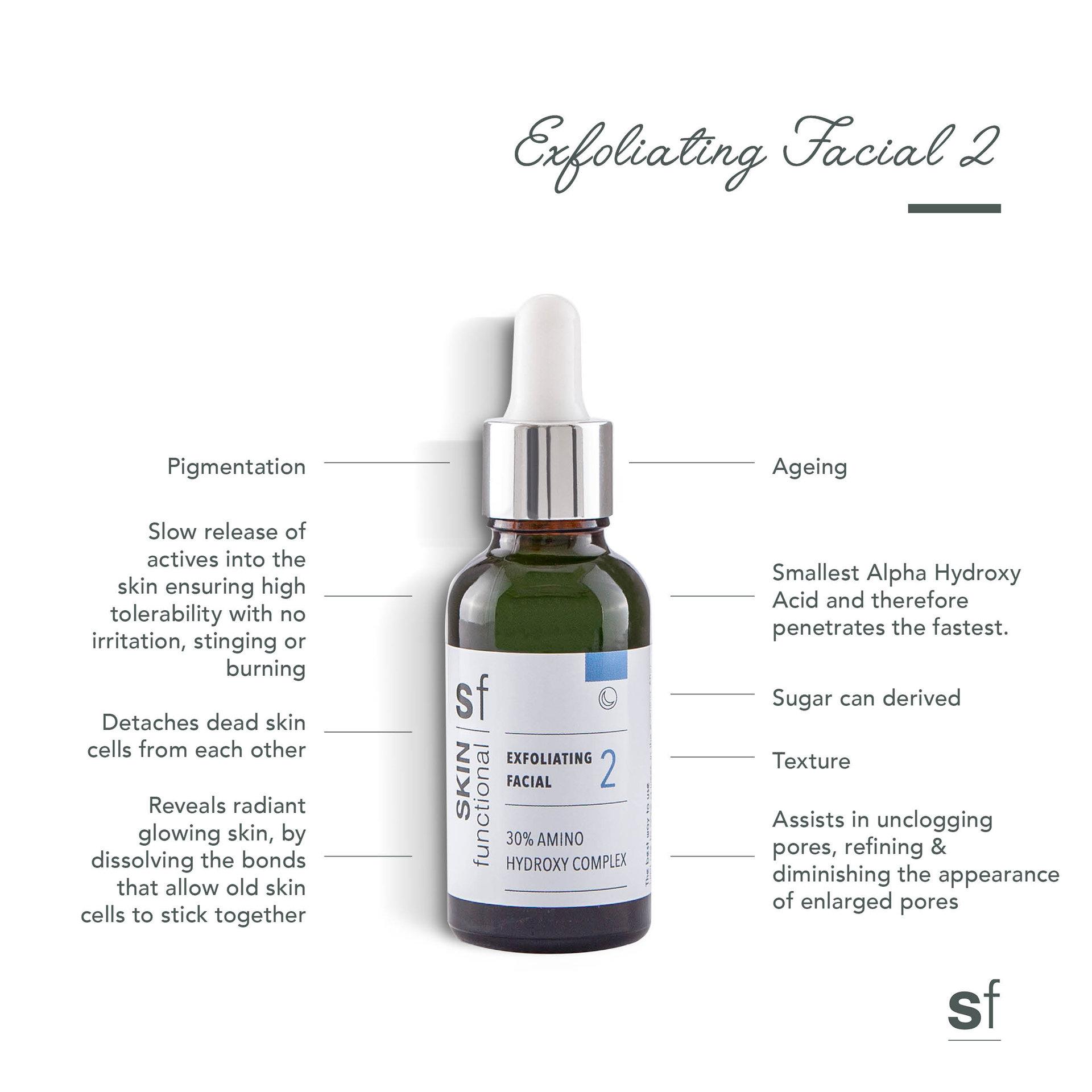 Exfoliating Facial 30% Amino Hydroxy Complex